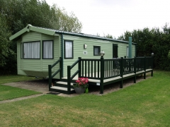 Fensys Decking on Willerby Rio