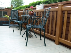 p2 Fensys domestic deck oak with Tawny