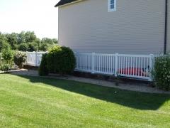 Park lodge UPVC fencing