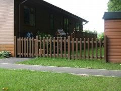 Plastic holiday park garden fencing.JPG