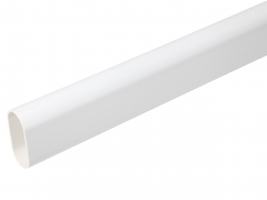 Fensys Hand rail Contemporary white