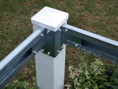 Zinc plated 2 way welded corner bracket