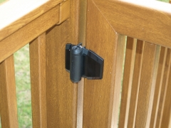 Self closing nylon & stainless veranda gate hinge Upvc plastic gate