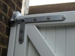 Fensys galvanised UPVC gate hinge Upvc plastic gate