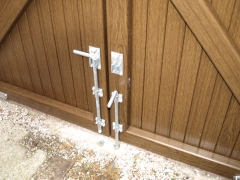 Plastic gate galvanised drop bolts.JPG