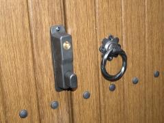 UPVC gate lock and ring latch Upvc plastic gate