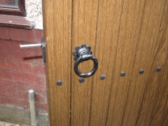 UPVC gate ring latch Upvc plastic gate