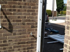 fensys gate7 JPG Upvc plastic gate garden side entry driveway