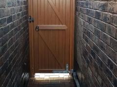 upvc side entry single gate upvc plastic will not rot