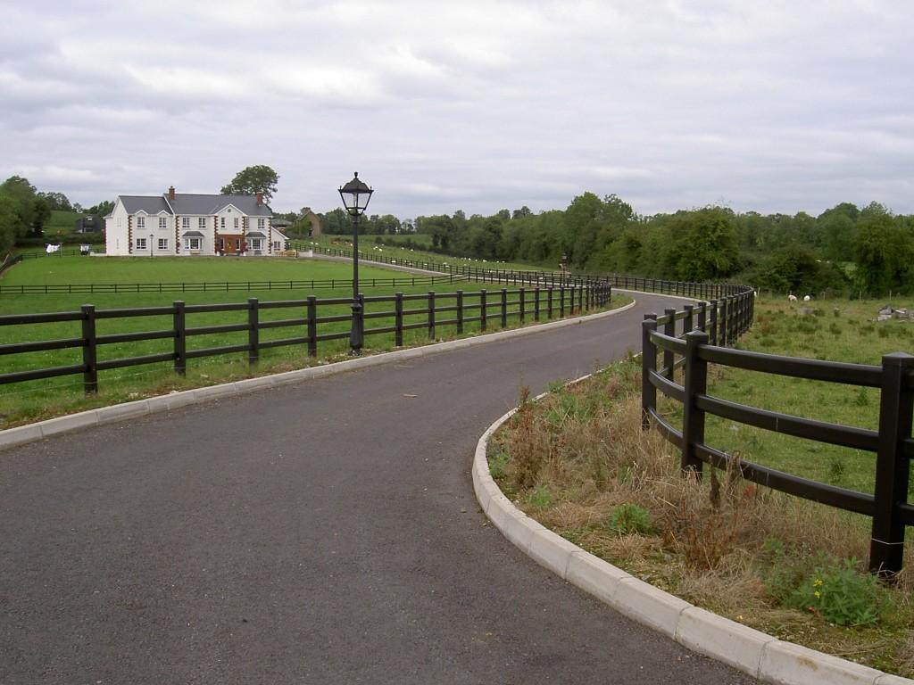 Fencing 8 brown ireland