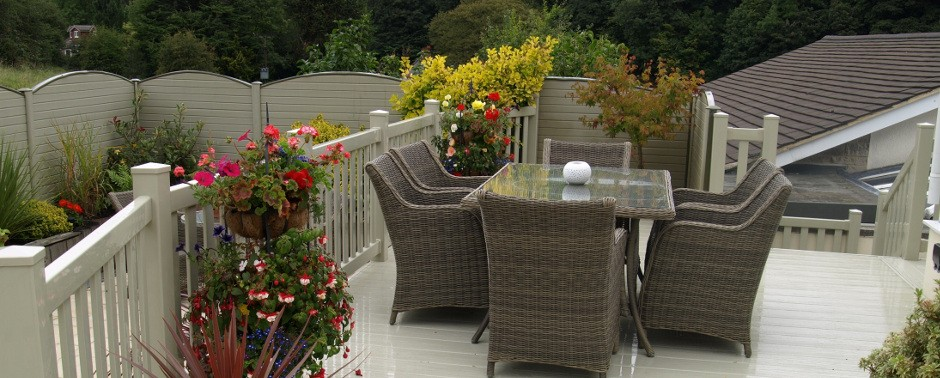 Decking For The Outdoor Lifestyle, Our UPVC Plastic Decking Can Create A  Luxurious Room In The Garden Extending Your Summer By Providing A Clean  Outdoor ...