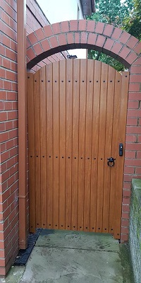 Upvc Garden Gates Fensys West Midlandds Uk